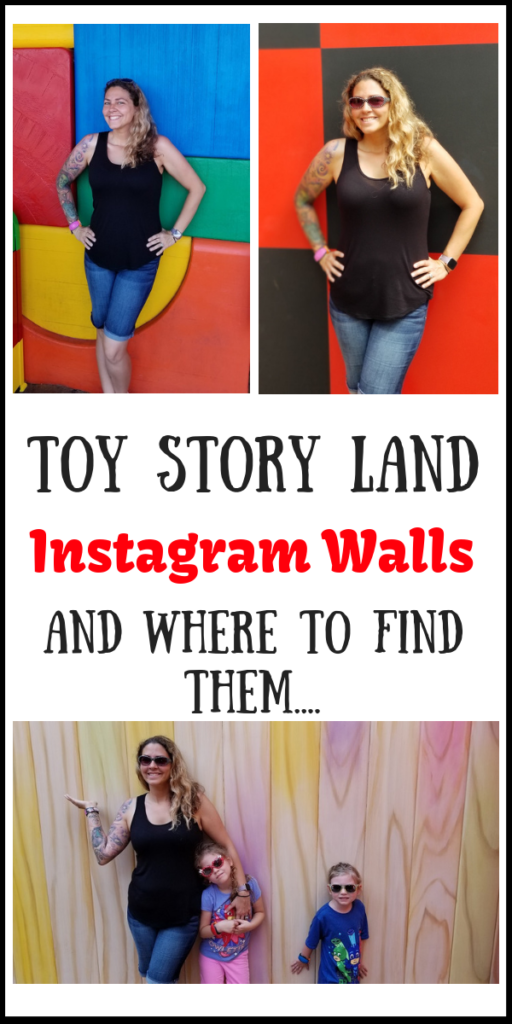 Toy Story Land Instagram Walls and where to find them