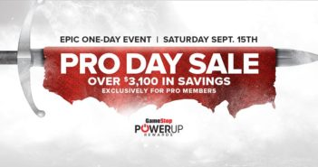 gamestop pro day sale 9/15