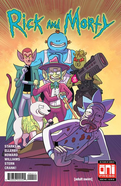 rick and morty 42 comic book