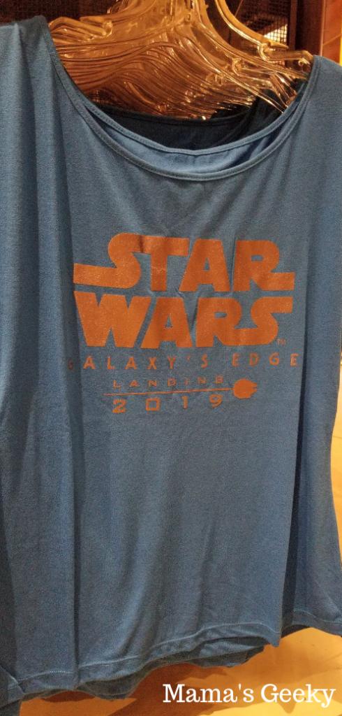star wars galaxy edge t-shirt one