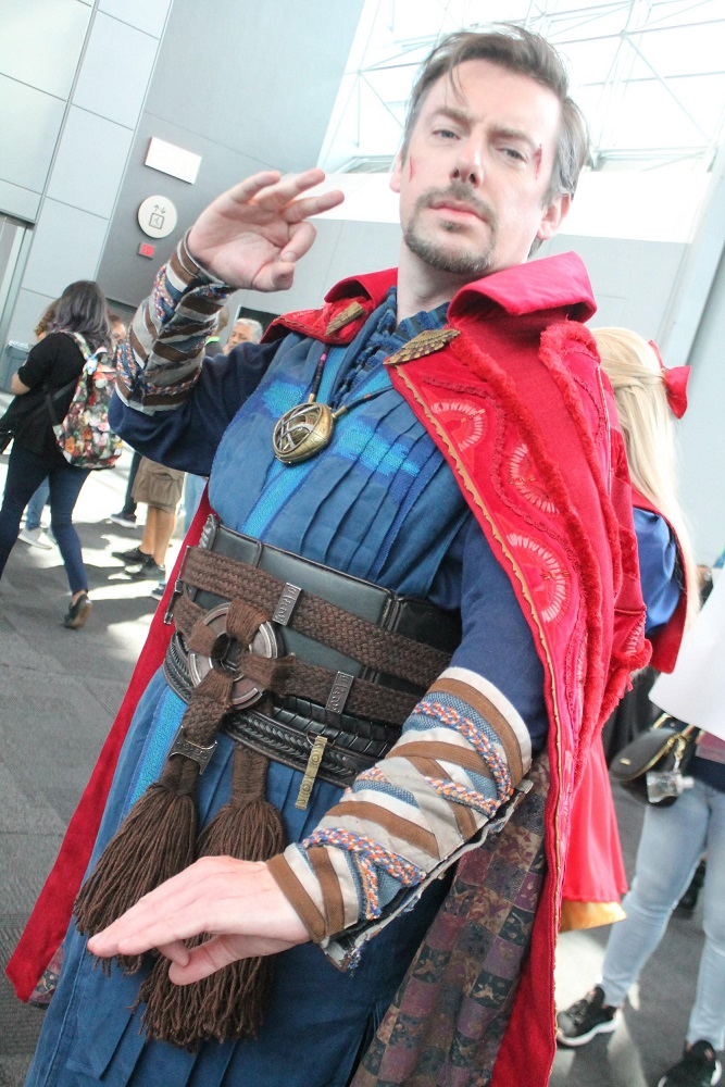 Cosplay NYCC Doctor Strange