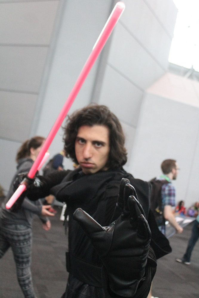 Cosplay NYCC Kylo Ren
