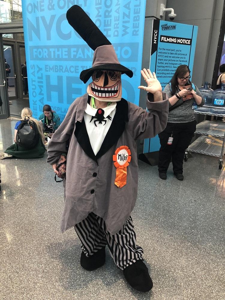 Cosplay NYCC Mayor
