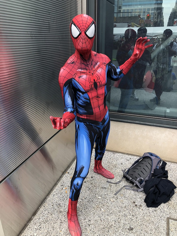 Cosplay NYCC Spider-Man
