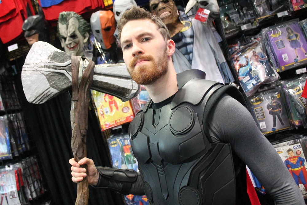 Cosplay NYCC Thor