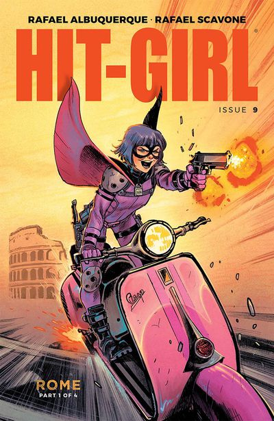 Hit-Girl Comic