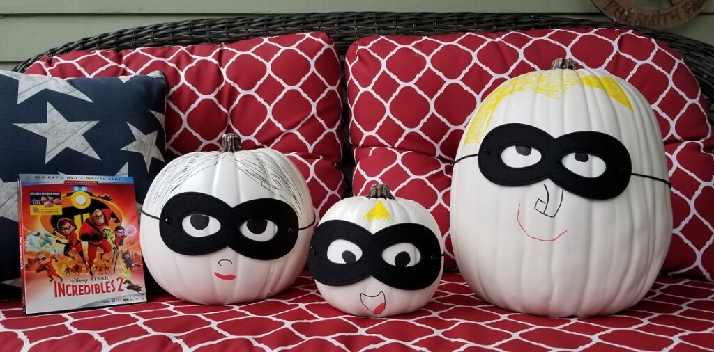 Incredibles Pumpkins