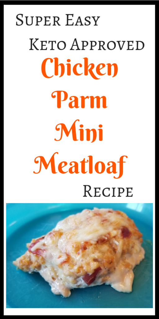 Keto Chicken Parm Mini Meatloaf