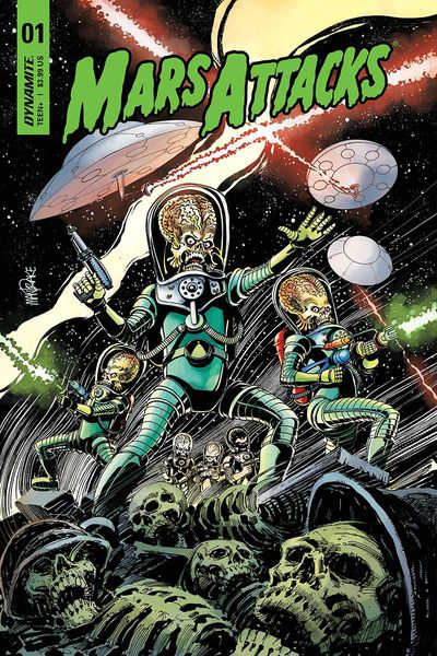Mars Attacks comic