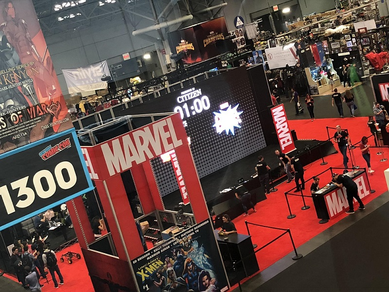Marvel Booth NYCC 2018