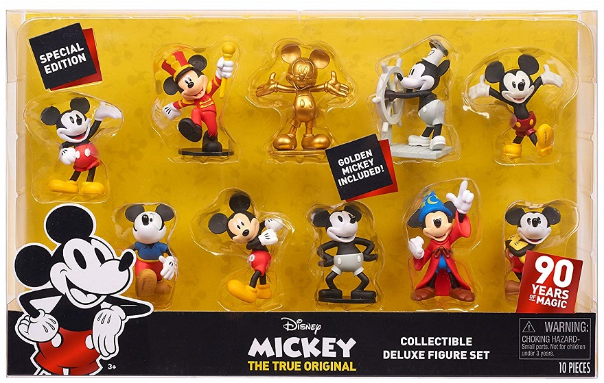 Mickey's 90th Anniversary Collectible Deluxe Figure Set