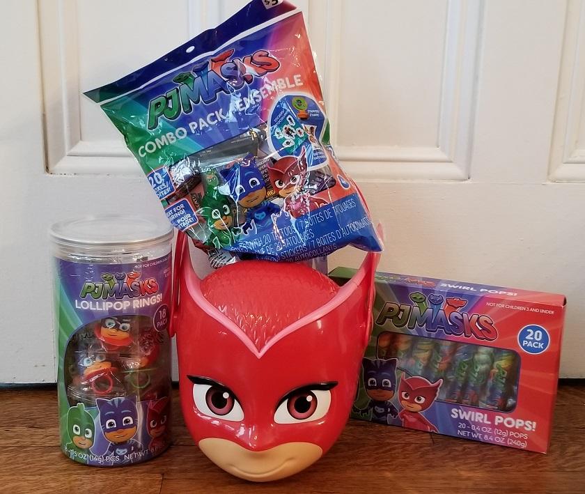 PJ Masks Halloween Candy