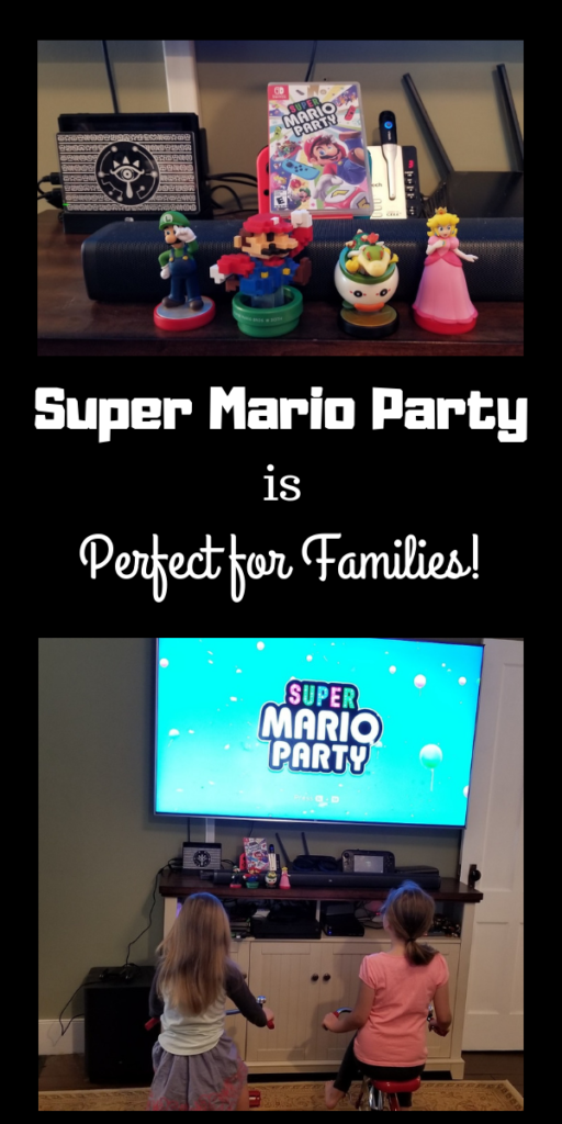 Super Mario Party is perfect for families