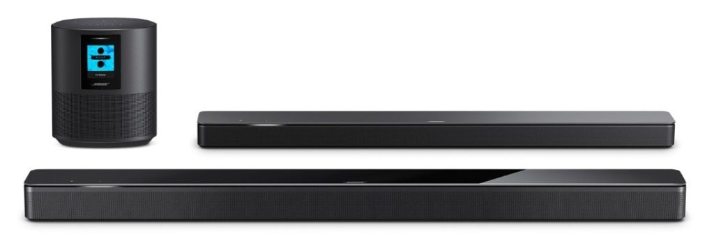 bose soundbar and home system