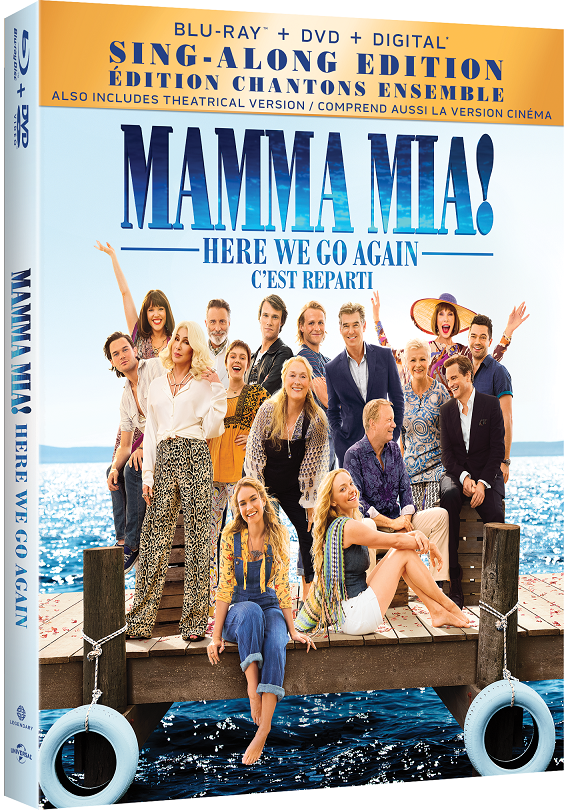 mama mia here we go again blu-ray
