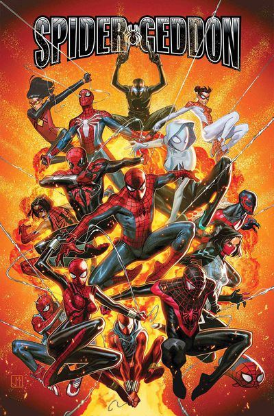 spider-geddon comic