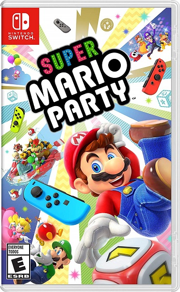 super mario party box