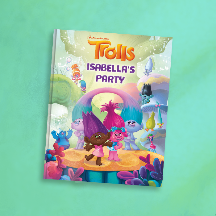 trolls party book