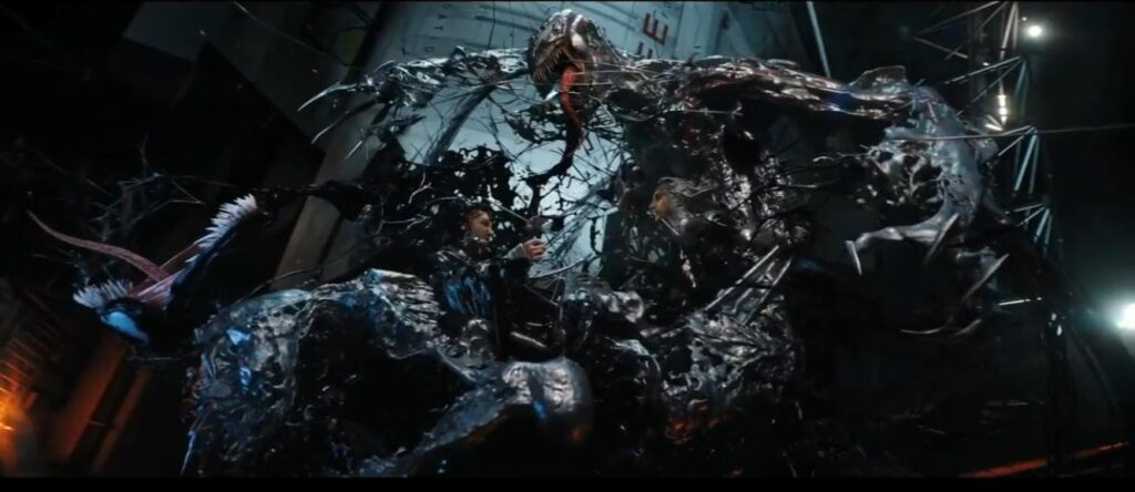 venom has amazing cgi