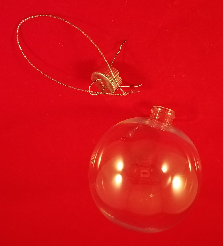 Clear Ball Ornament