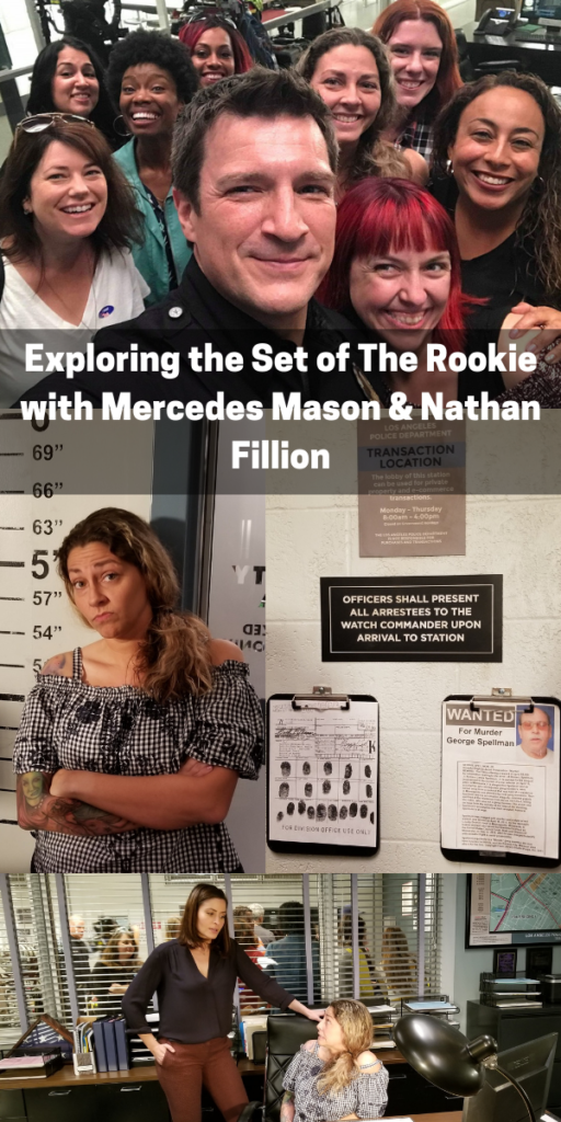 Exploring the Set of The Rookie with Mercedes Mason & Nathan Fillion