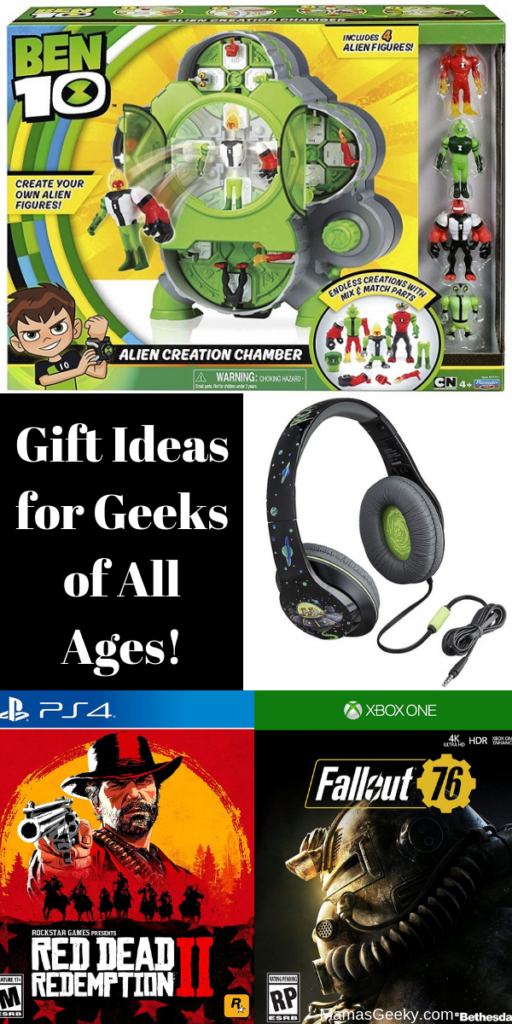 Gifts for Geeks of All Ages!