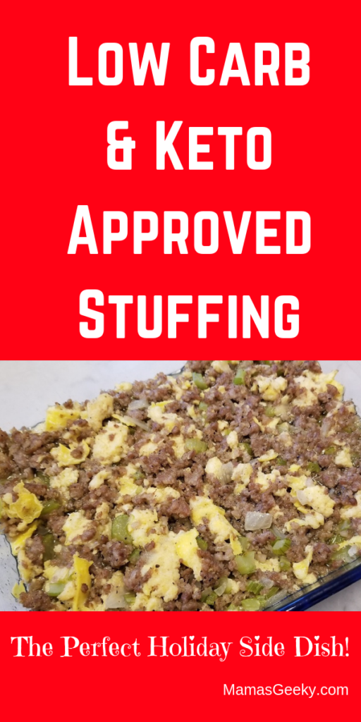 Low Carb & Keto Approved Stuffing