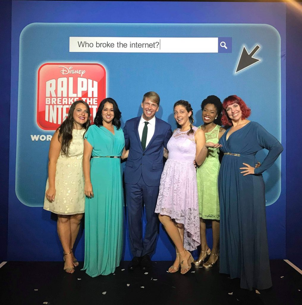 Ralph Breaks The Internet Premiere Jack McBrayer Geekly Show Girls