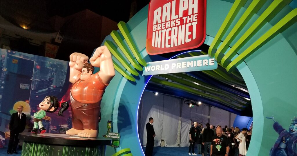 Ralph Breaks The Internet World Premiere