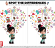 Ralph Breaks the Internet Spot the Difference