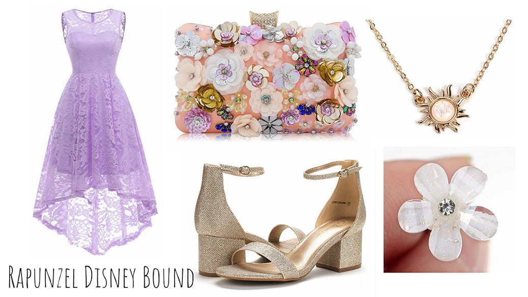 How To Create My Red Carpet Rapunzel Disney Bound Look Mama S Geeky