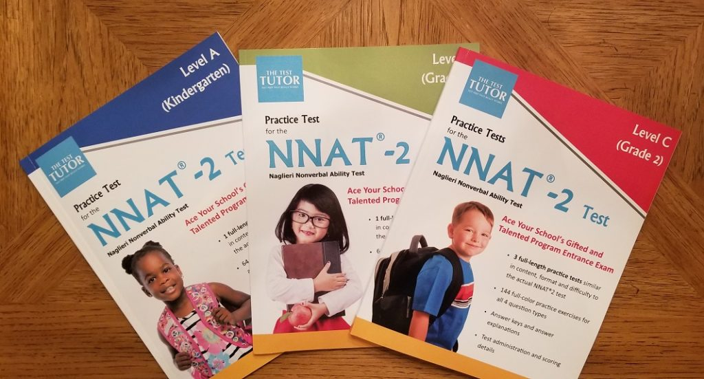 Test Tutor Workbooks NNAT