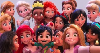 disney princess selfie ralph breaks the internet