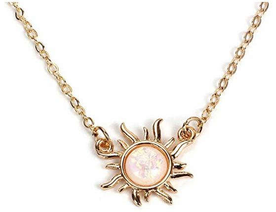 rapunzel disney bound necklace