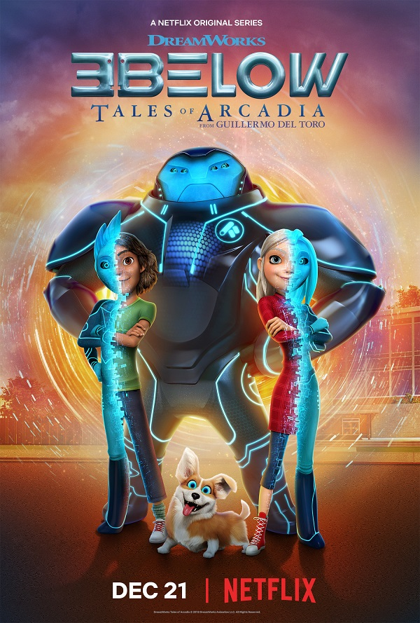 3Below tales of arcadia poster