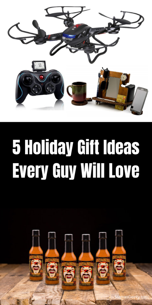 5 Holiday Gift Ideas Every Guy Will Love