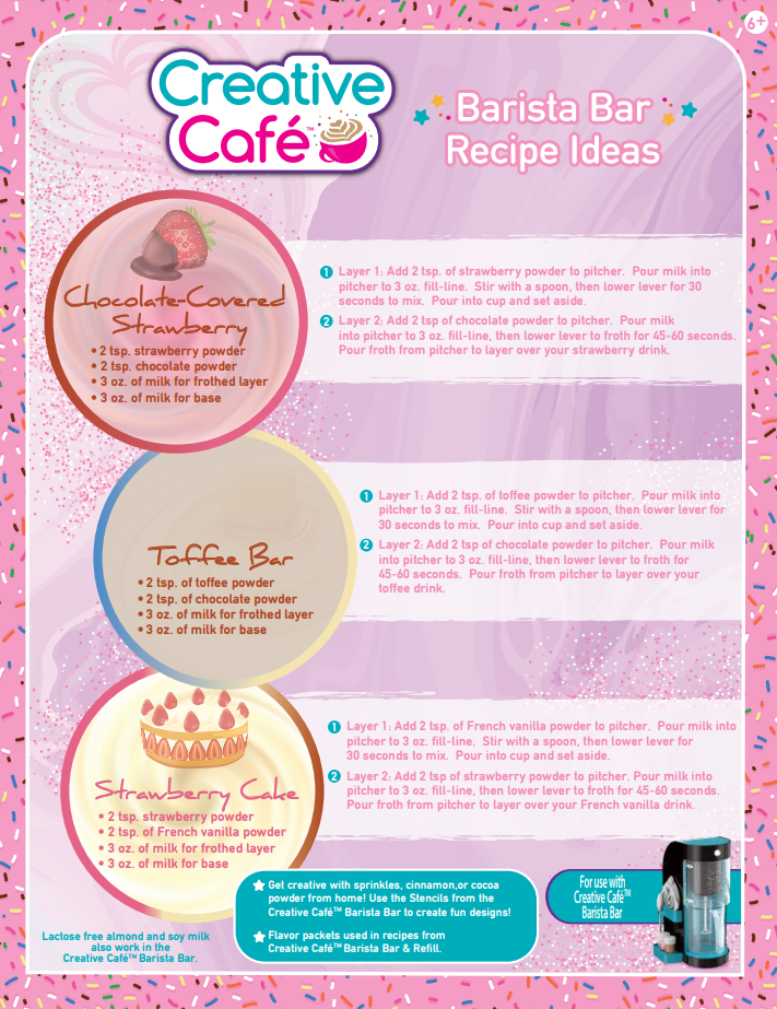 Creative Cafe Recipes