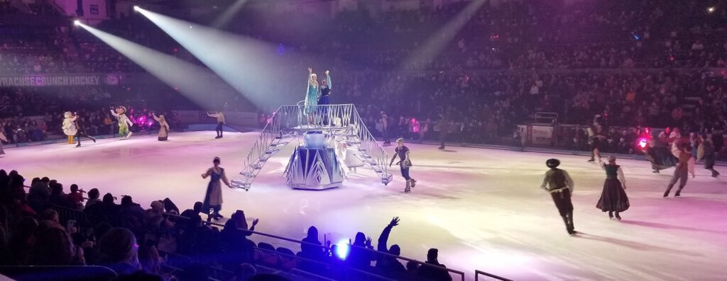 Disney on Ice Frozen Anna and Elsa