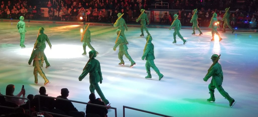 Disney on Ice Toy Story 3 Army Men