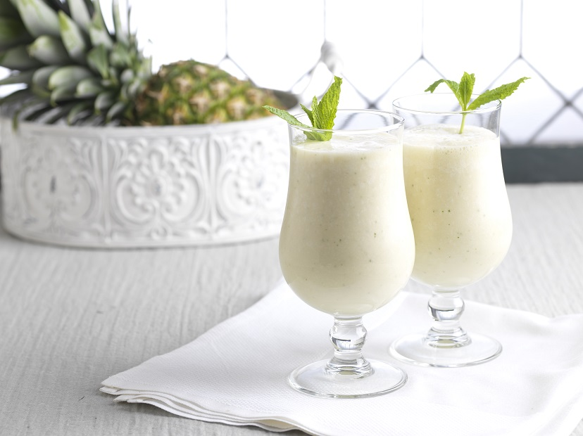 Dole Pineapple Julep Smoothie - Mint Julip Smoothie