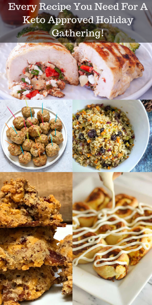 Every Recipe You Need For A Keto Approved Holiday Gathering!