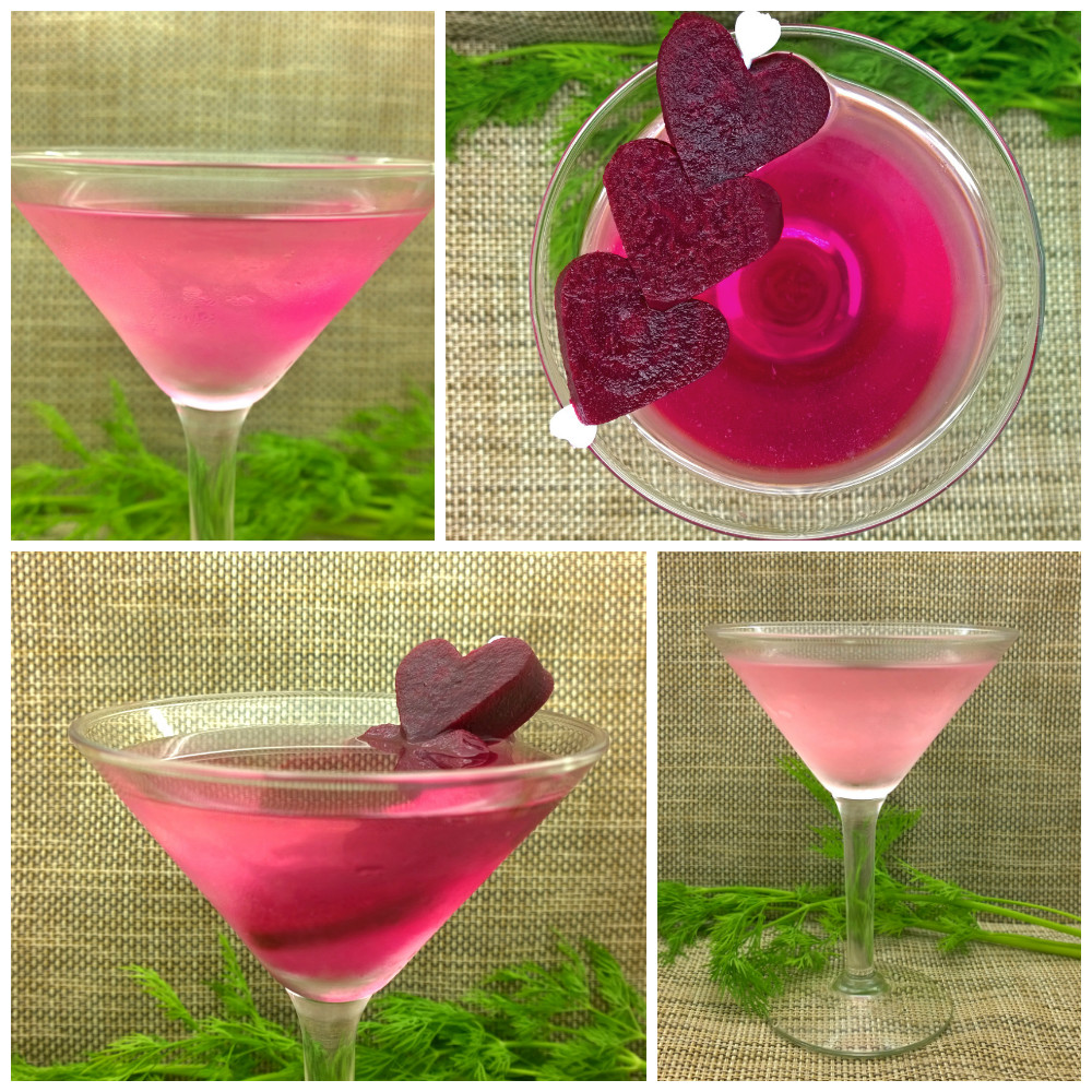 pickled beet dirty martini low carb