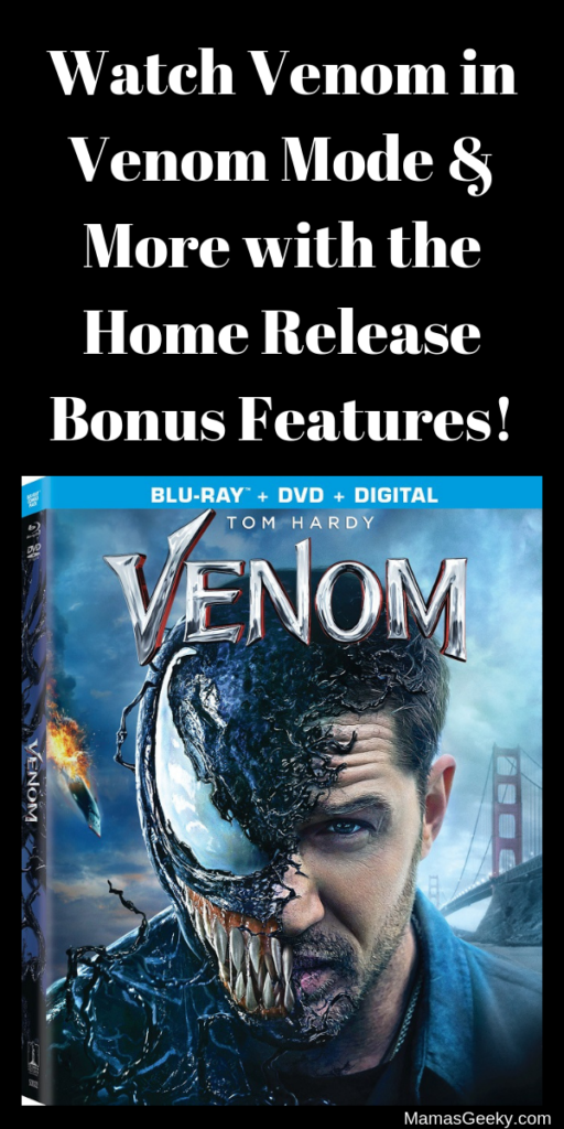 Watch Venom in Venom Mode & More with the Home Release Bonus Features!