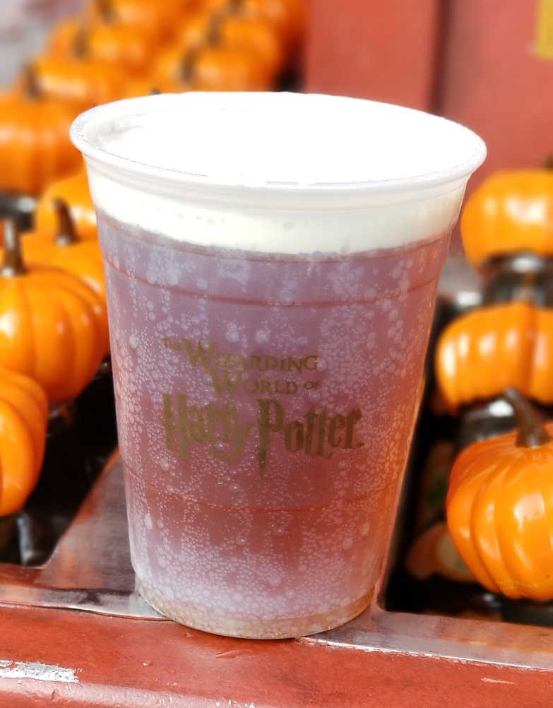 Wizarding World Universal Hollywood butterbeer