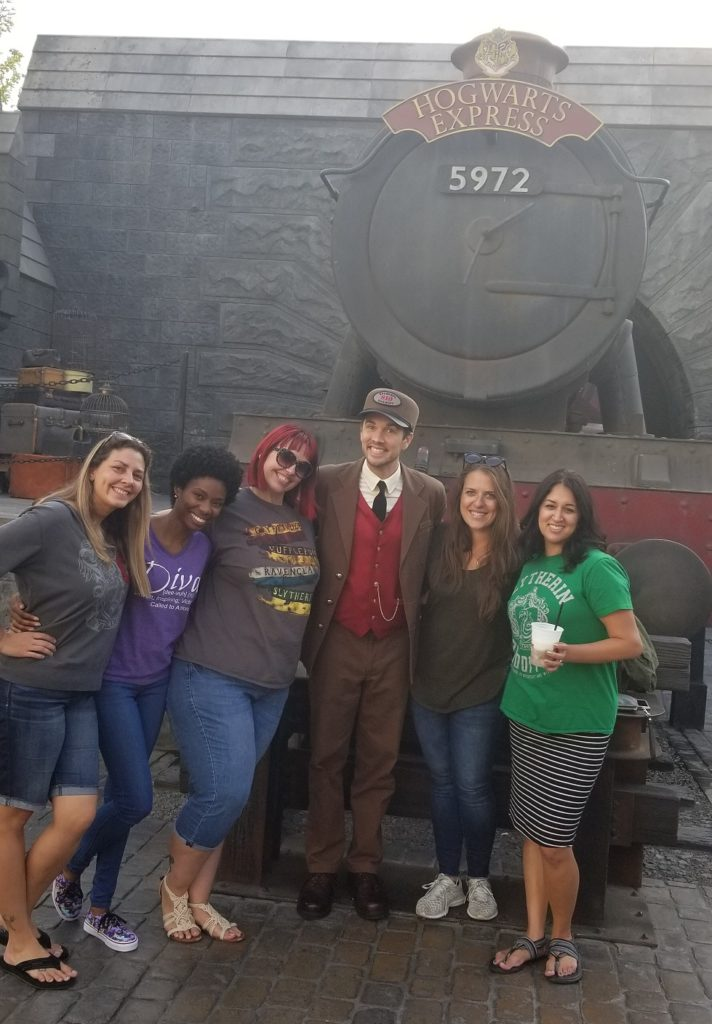 Wizarding World Universal Hollywood hogwarts express