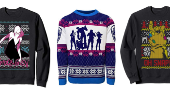 marvel ugly christmas sweaters