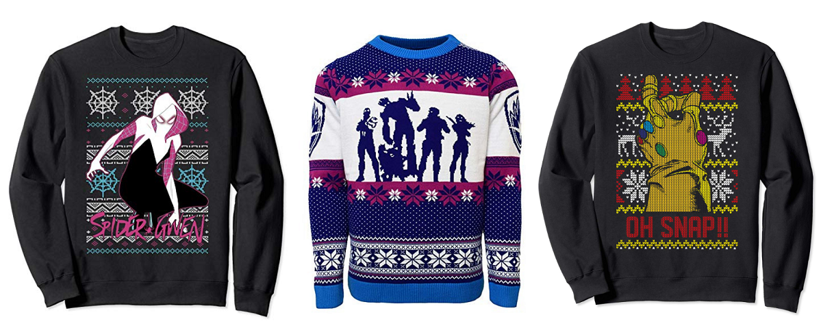7ee0a5e23d 25 Ugly Christmas Sweaters Every Marvel Fan Will Love