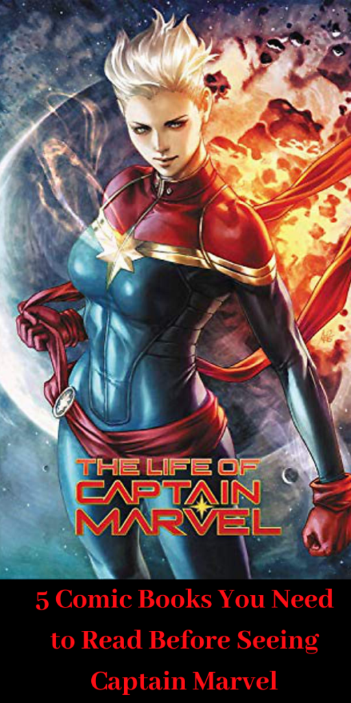 5 Comic Books You Need to Read Before Seeing Captain Marvel
