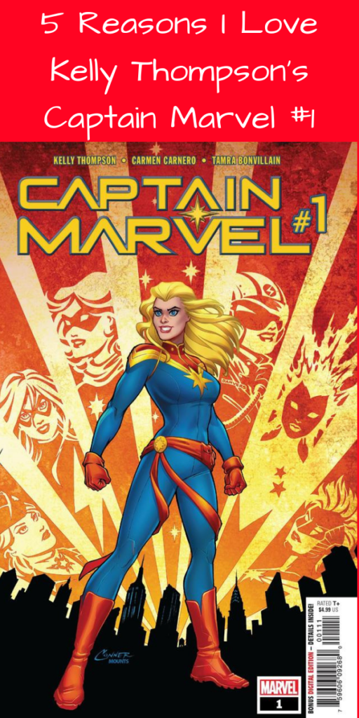 5 Reasons I Love Kelly Thompson's Captain Marvel #1