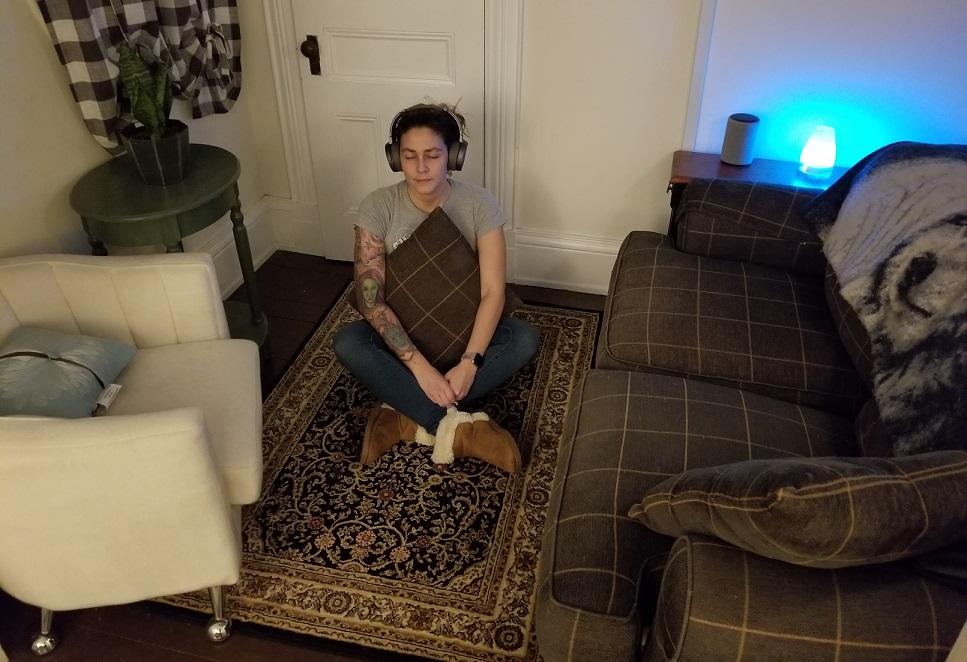 Alexa Meditation room